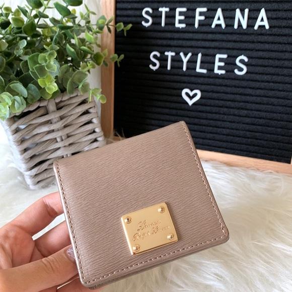 Ralph Lauren Handbags - Ralph Lauren Textured Leather Mini BiFold Wallet